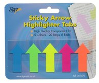 100 Sticky Arrow Highlight Tabs