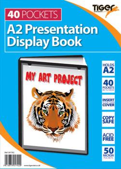 A2 40 Pocket Presentation Display Book