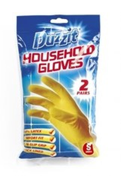 2 Pairs of Household Gloves (Small)