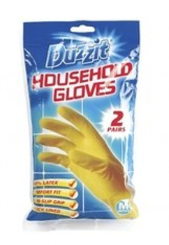 2 Pairs of Household Gloves (Medium)