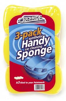 Handy Car Sponges (3 Pack)