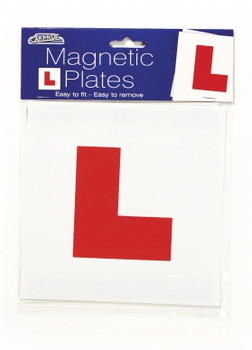 Magnetic L Plates by Car Pride