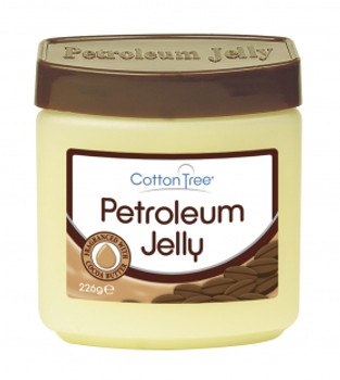 Cotton Tree Petroleum Jelly Fragranced with Cocoa Butter 226g