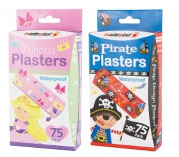 Children's Theme Plasters (75 Pack)