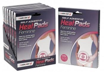 Self Adhesive Instant Feminine Heat Pads (2 Pack)