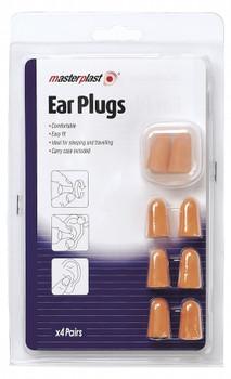 Masterplast Ear Plugs (4 Pairs)