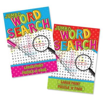 Super Jumbo Word Search Book