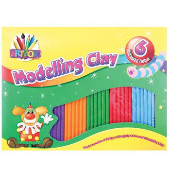 6 Strips of Modelling Clay
