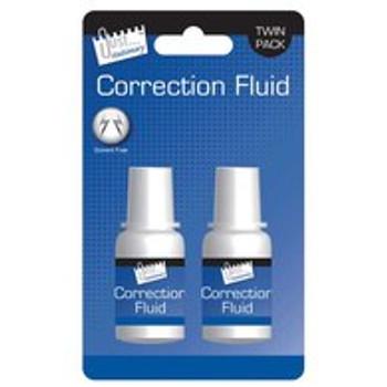 2 Bottles of Correction Fluid
