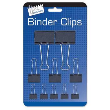 10 Assorted Binder Clips
