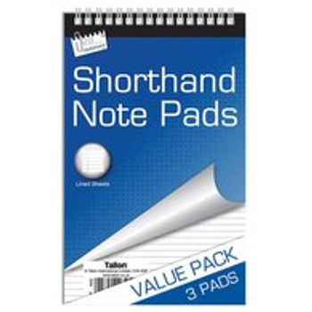 3 x 100 Page Shorthand Notebooks
