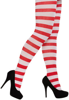 Adult Red & White Tights
