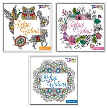 Adult Colouring Book Series 1