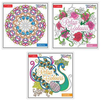 Adult Colouring Book Series 2