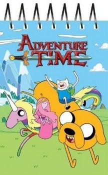 Adventure Time A6 Novelty Notebook