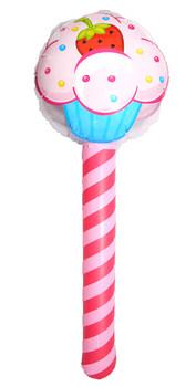 Inflatable Cupcake Sticks 76cm
