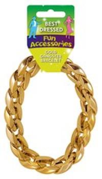 Bracelet Gold Gangster 31cm