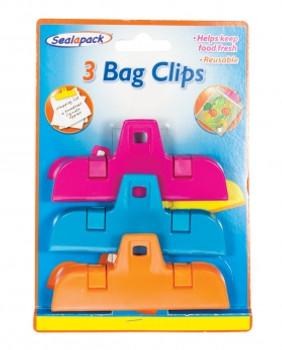 Bag Clip (3 Pack)