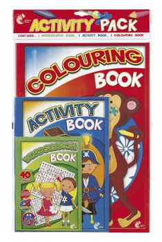 Activity Pack (3 Pack)