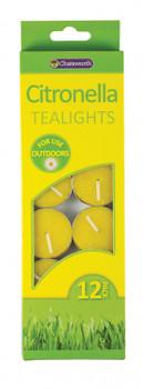 Citronella Tealights (12 Pack)