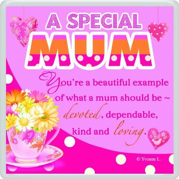 A Special Mum Sentimental Fridge Magnet
