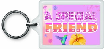 A Special Friend Sentimental Keyring