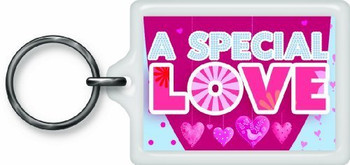 A Special Love Sentimental Keyring