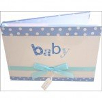 Premium Baby Photo Album - Blue