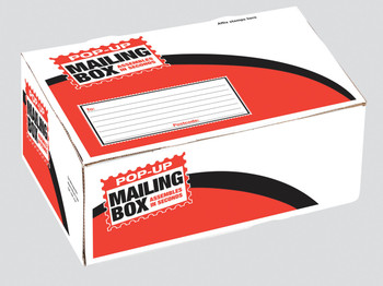 15 Large Pop Up Mailing Boxes