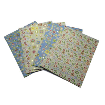 10 Sheets of Luxury Shapes Design Gift Wrap and Tags