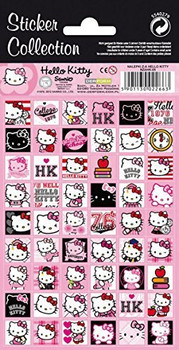 54 Hello Kitty Stickers- Sticker Collection