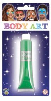 Body Art Make Up Cream Green 28.5ml