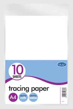10 A4 Tracing Paper Pack