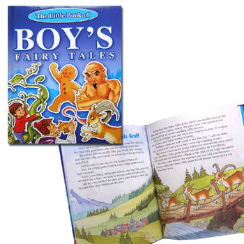The Little Book of Boys Fairy Tales - Hardback Children's Story Book