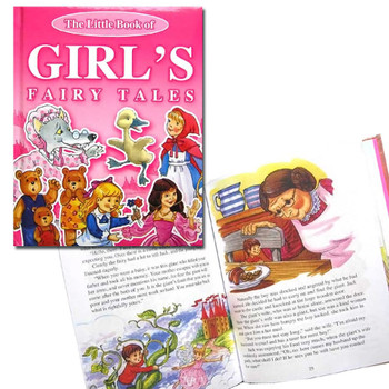 The Little Book of Girls Fairy Tales - Hardback Children's Story Book