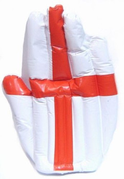 Inflatable Giant Blow Up England Hand - St George Flag World Cup Football Fans