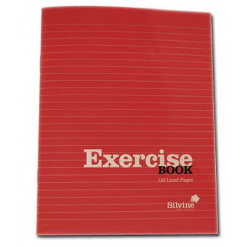 120 Page Lined Exercise Book