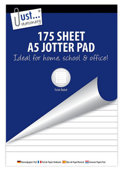 175 Sheet A5 Bumper Jotter Pad