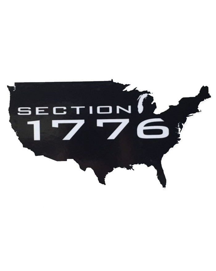 Section 1776 Sticker - Country