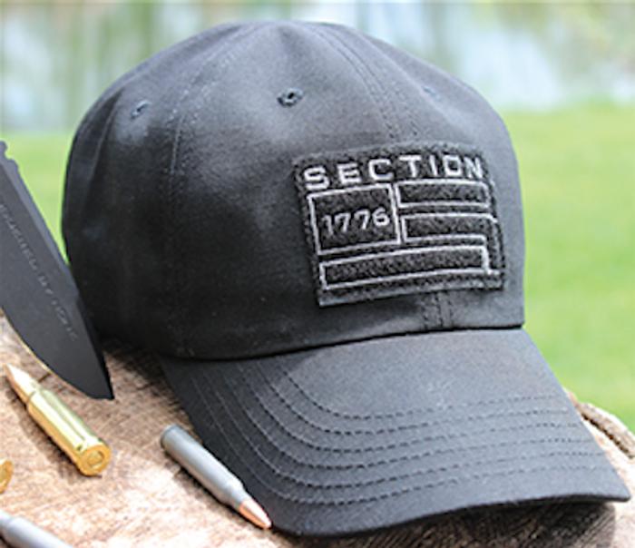 Black Tactical Hat