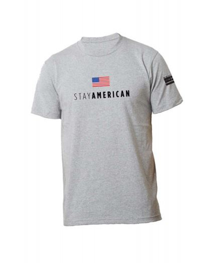 Toddler & youth Stay American SS - Gray