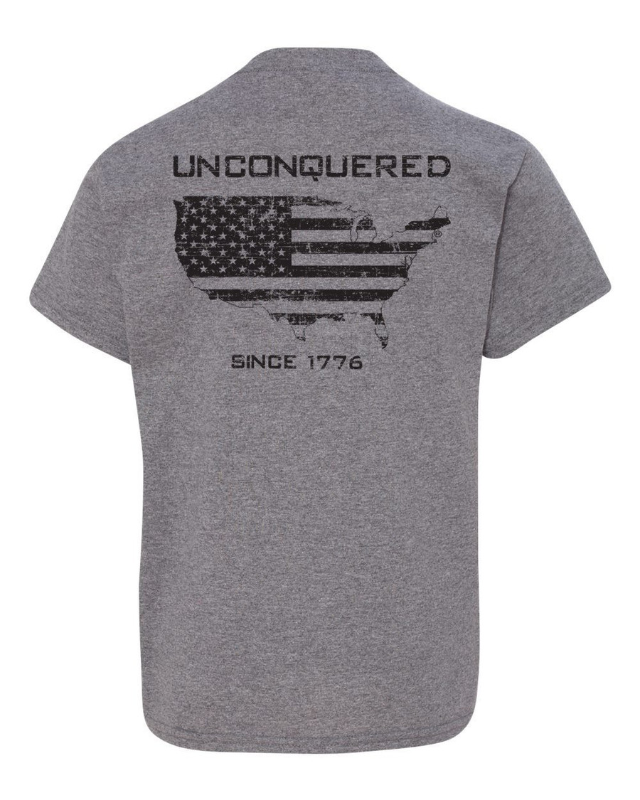 Unconquered Toddler & Youth Short Sleeve