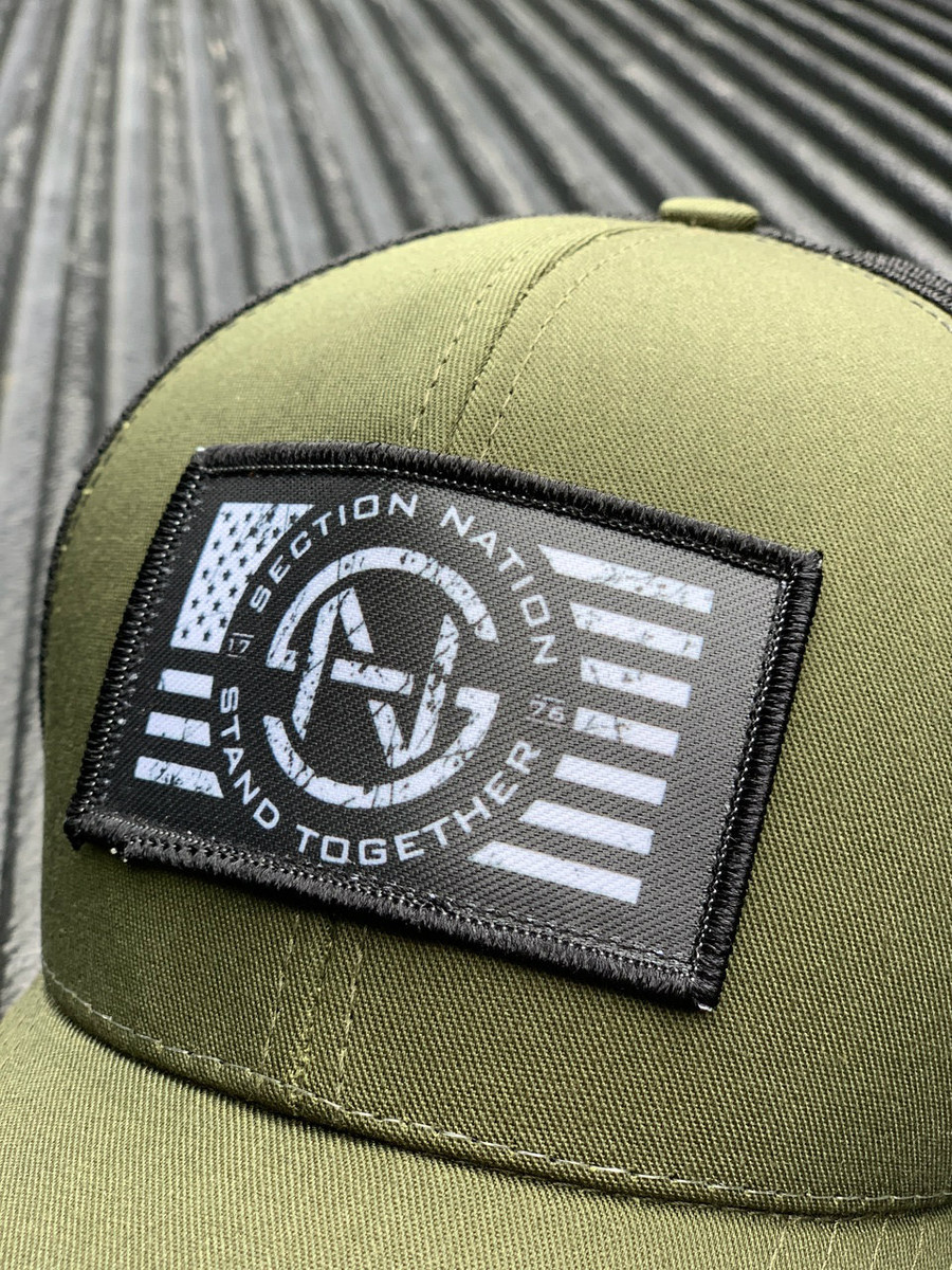Section Nation - OD Green Trucker