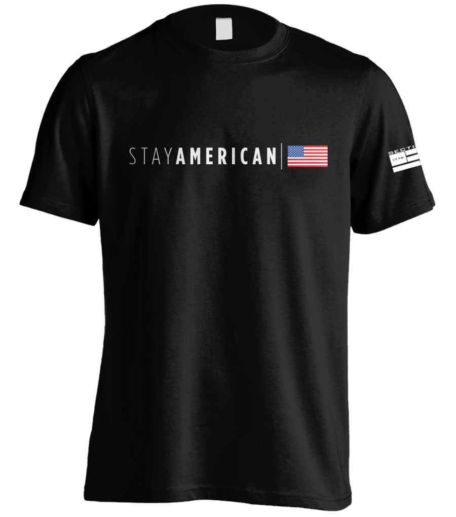 Stay American - Black SS