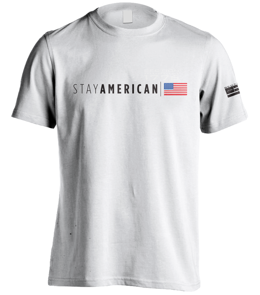 Stay American - White SS