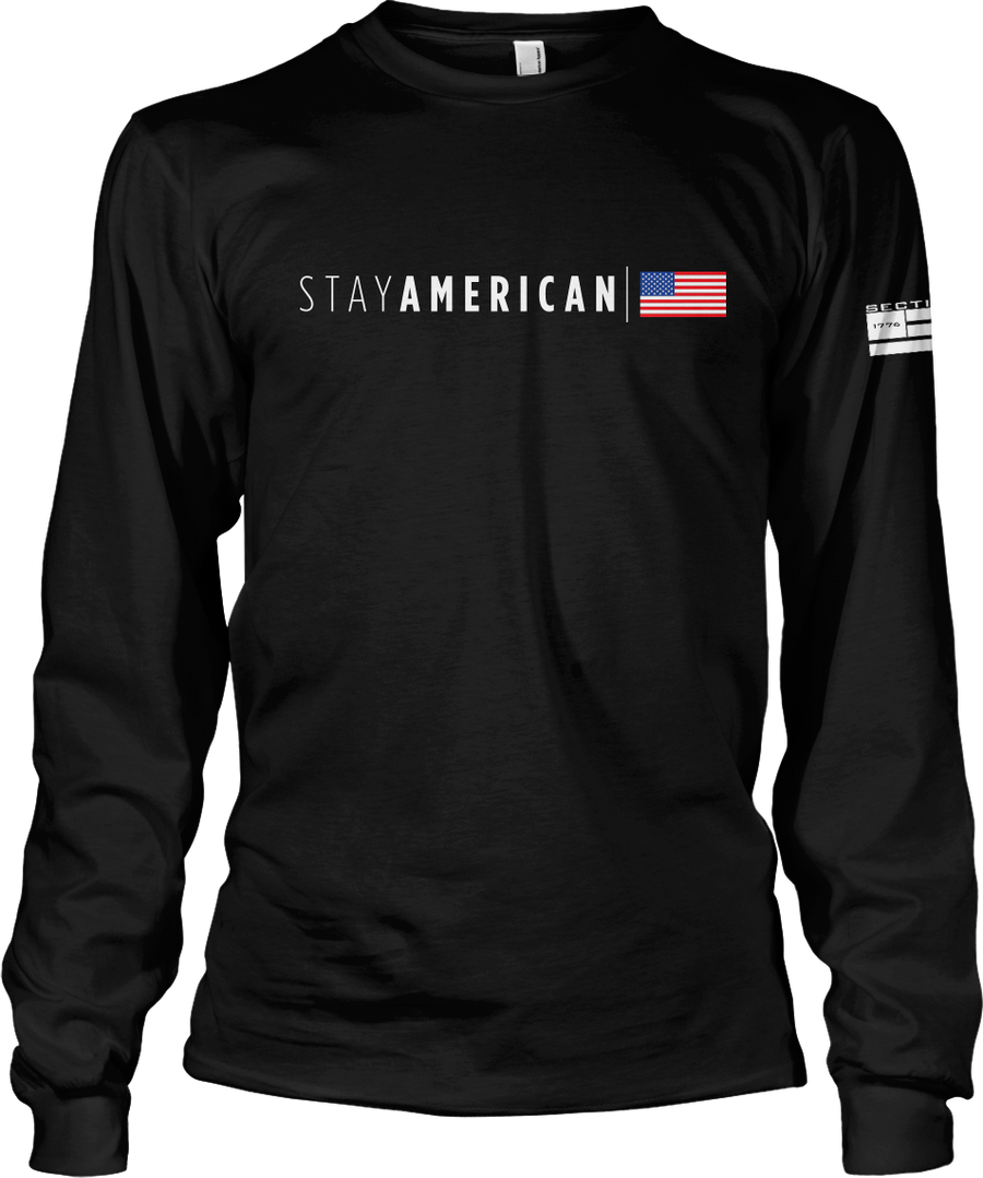 Stay American - Black LS