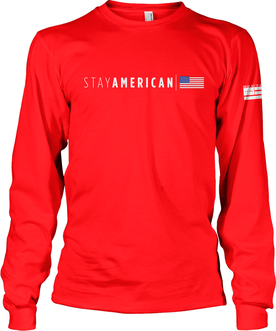 Stay American - Red LS