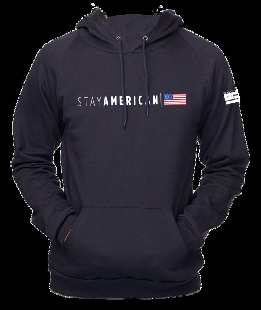 Stay American - Navy Hoodie