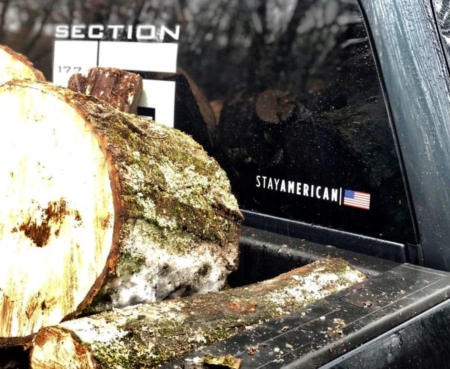 Stay American Decal (Frost not included)