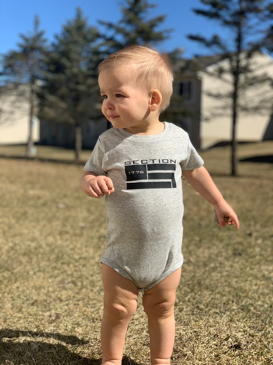 Section Oatmeal Onesie